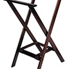 "Wood Tray Stand - Deluxe Tall Height, Open Top, 18-1/2"" W x 17"" D x 38"" H"