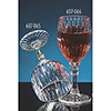 Plastic Barware 8 oz. Fluted Wine Glass (Short)