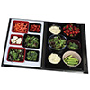 Melamine Salad Bar Tile Solid Tile