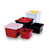 Melamine Salad Crock - Square 28 oz. Capacity