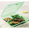 "Eco-Takeouts Food Container - Full-Size Three Compartment, 9""Wx9""Dx2-3/4""H"
