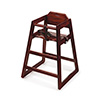 G.E.T. Enterprises HC-100M-2 - High Chair, commercial hardwood