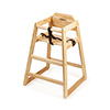 G.E.T. Enterprises HC-100N-2 - High Chair, commercial hardwood