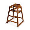 G.E.T. Enterprises HC-100W-2 - High Chair, commercial hardwood