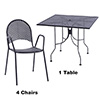 Patio Table and Chair Combo Deal