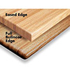 "Wood Goods 1000 Series Oak Table Top, 1-1/2"" Butcherblock Top With 1/4"" Eased Edge"