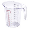 Polycarbonate Measuring Pitcher - 2 Quart Capacity