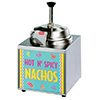 Lighted Nacho Cheese Warmer With Heated Spout