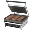 "Panini Grill - Cast Iron 14""Wx10""D Smooth Cooking Surface"