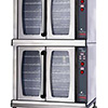 Electric Convection Oven - ChefSeries Full-Size Double Stack, Manual Knob Controls