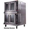 Gas Convection Oven One Deck with Selectronic II Controls