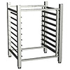 Stand w/ Undershelf, Slides and Legs For 385 Series Single Deck Convection Ovens
