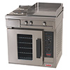"Electric Range with Convection Oven Base, 18""W Griddle"