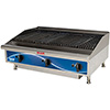 "Gas Charbroiler - 3 Burners, 90,000 BTU, 36""W"