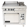 Toastmaster TRE36D5 - Electric Range, (1) 24x24 Griddle and (2) French Plates