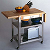"Serving Cart - (1) 10"" Dropleaf"