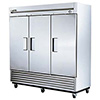 True Reach-in Freezer - Three Doors - 72 Cu. Ft. - 1 HP - T-72F