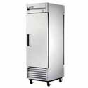 True T-23PT Reach-In Pass-Thru Refrigerator - One Door, 23 Cu. Ft.