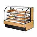 "True TCGD-59 Dry Bakery Display Case - Two Door, 59""W"