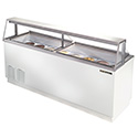 "True TDC-87 Ice Cream Dipping Cabinet - 89""W, 27.9 Cu. Ft. Capacity"