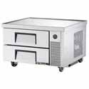 "True TRCB-36 Refrigerated Chef Base - Two Drawer, 36""W"