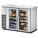 "True TBB-24-48G-LD Back Bar Cooler - Two Door, 49""W"