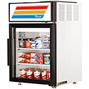 True GDM-5F-LD Countertop Glass Door Merchandiser Freezer, 5 Cu. Ft.