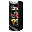 True GDM-23FC-LD Floral Merchandiser with 1 Glass Swing Door