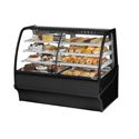 "True TDM Dual Zone Bakery Case, 59-1/4""W"