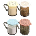 Kitchen Dredge, 10 oz. Capacity, Three Lids