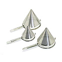 Stainless Steel China Cap Strainer Fine Perforations, 6 Qt.