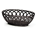 "Contemporary Basket - Vineyard, 9""Wx6-1/2""Dx3-1/4""H"