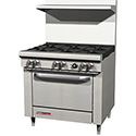 "Exclusive 36"" 6 Burner Range"