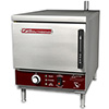 Boiler Free Electric Countertop Convection Steamer - 3 Pan Capacity, 8000 Watts