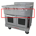 Insulated Base for Truvection Low Profile Ovens