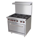 "Value 36"" 6 Burner Range"