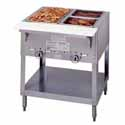 "Aerohot Electric Hot Food Table - Stationary 2 Wells, 30-3/8""W"