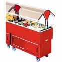 """EconoMate Portable Buffet Unit, Cold Food Table - Ice Cooled 20""""Wx40""""D Top Opening"""