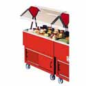 "EconoMate Portable Buffet Unit, Cold Food Table - Refrigerated 40""Wx20""D Top Opening"