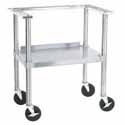 Portable Stand for Bulk Nacho Chip Warmers 708-001 and 708-004