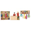 Jonti-Craft 7106YT441 Young Time 5 Section Coat Locker