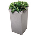 Commercial Zone 724117 StoneTec Tall Planter, Ashtone