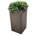 Commercial Zone 724118 StoneTec Tall Planter, Aspen