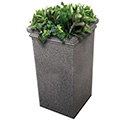 Commercial Zone 724119 StoneTec Tall Planter, Pepperstone