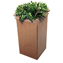 Commercial Zone 724121 StoneTec Tall Planter, Sedona