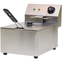 Value Series FRY1-6-120 10 Lb. Oil Capacity Countertop Fryer