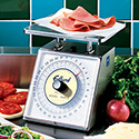 Edlund RM-25 Portion Control Scale - Deluxe 25 lbs. x 2 oz. Capacity