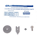 Edlund KT1415 Replacement Parts Kit for 745-021 and 745-022