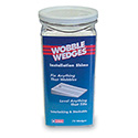 Wobble Wedge Table Leveler, Transluscent Hard Nylon
