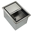 "Krowne Metal D278 Krowne Medium Drop-In Ice Bin 20"" X 15"" Oa"